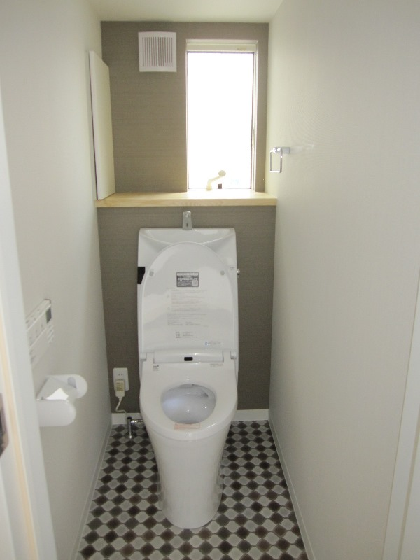 同社施工例 トイレ