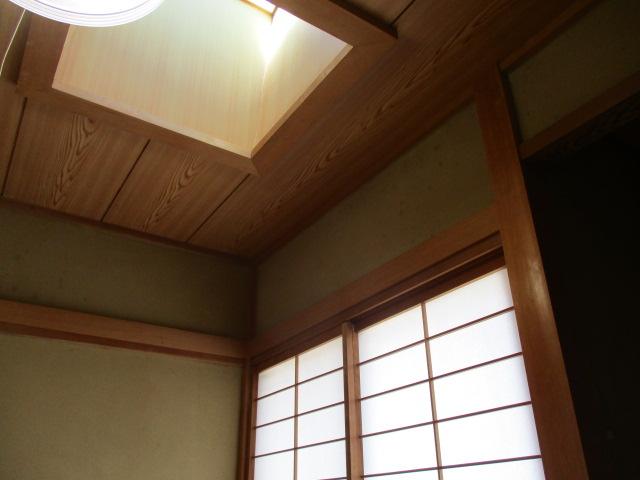 1階和室の天窓