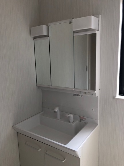 洗面台(同社施工例)