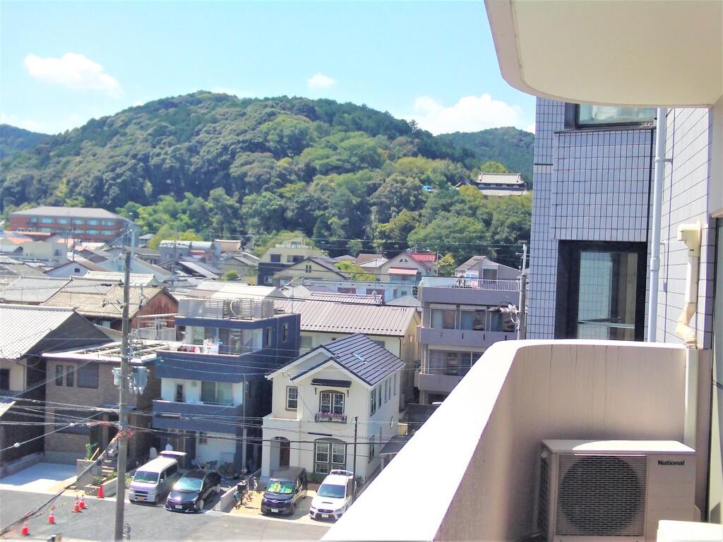 三井寺眺望(西側バルコニー)