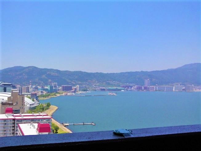 びわ湖眺望