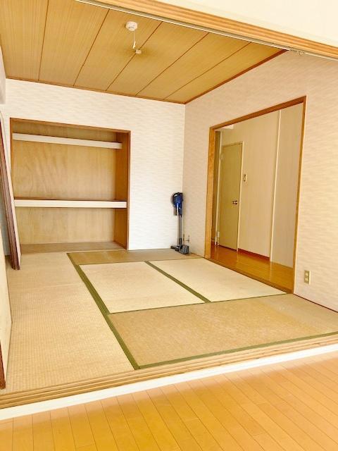 和室は6帖でゆとりの広さ