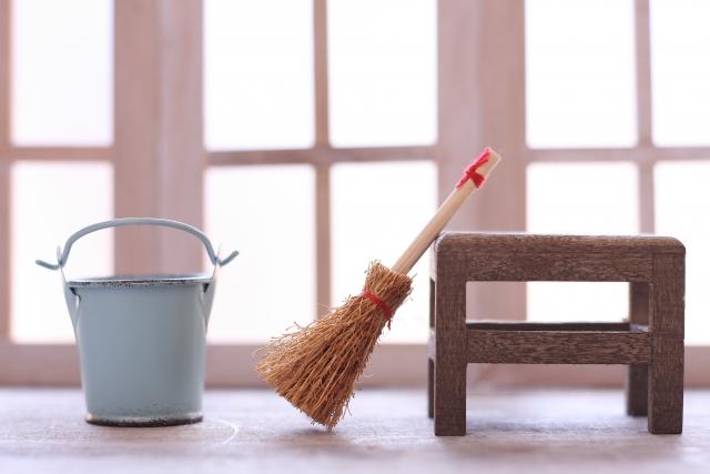 マンションの掃除